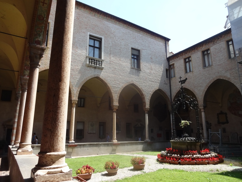 Cloisters at the Basilica di Sant'Antonio in Padova